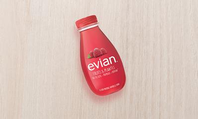 EVIAN FRUITS & PLANTES - FRAMBOISE VERVEINE 37CL