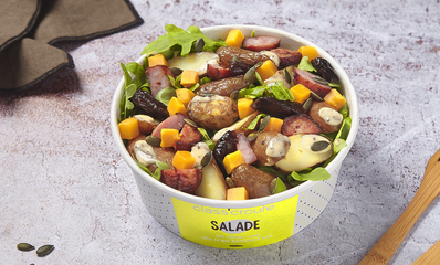SALADE MONTBELIARDE COURGE