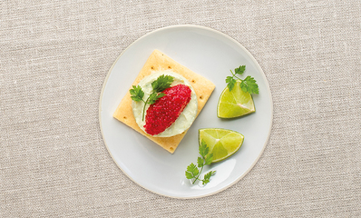CHEESE CAKE GUACAMOLE